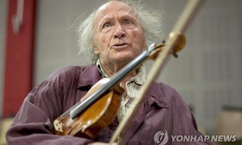 [연합뉴스] 바이올린 거장 이브리 기틀리스 98세에 별세